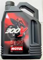 Motul 300V 5W30 FACTORY LINE ROAD RACING 4 Liter 104111